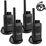 Seodon Updated Walkie Talkies Long Distance Rechargeable for Adults 4 Pack Two 2