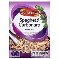 Schwartz Spaghetti Carbonara Recipe Mix (32g) シュワルツスパゲッティカルボナーラレシピミックス( 32グラム)