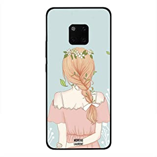 Huawei Mate 20 Pro Case Cover Standing Girl Looking Cute, Moreau Laurent Premium Phone Covers & Cases Design