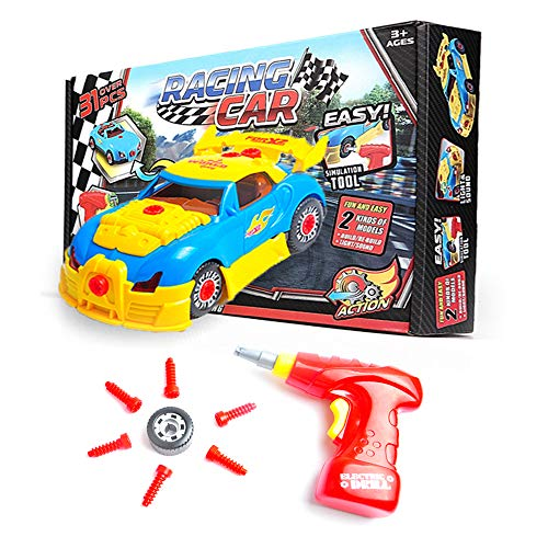 Take Apart Toy Racing Car for...