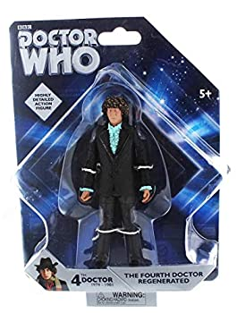 Underground Toys Doctor Who Fourth Doctor Regenerated 5  Action Figure