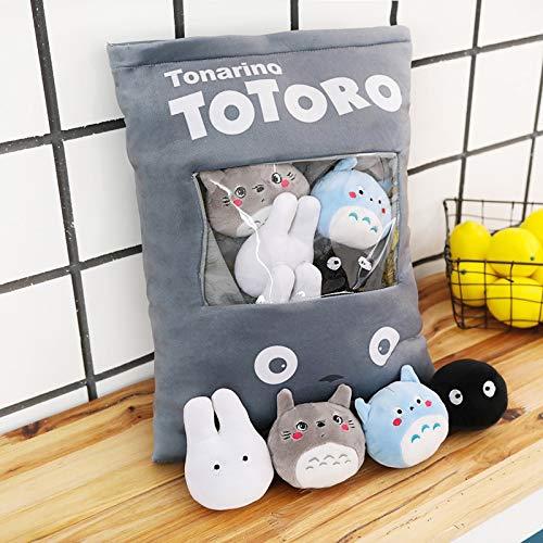 Ksydhwd Peluche Totoro Corner Creature Un Sacchetto di Snack Cuscino Animal Crossing Peluche Animali di Peluche Bambola Creativa Juguetes Peluche Cuscino Divano Giocattolo