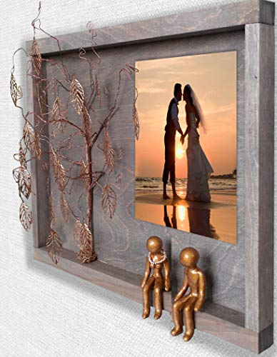 Family Picture Frame is Traditional 10 year Wedding Anniversary Gift
