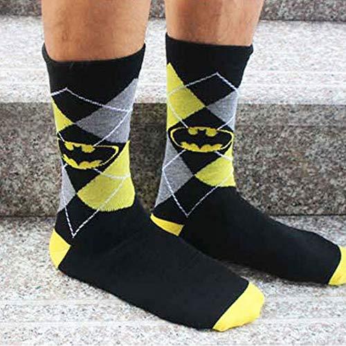 Ccoco Batman Baumwolle Socken-Gitter-One-Size