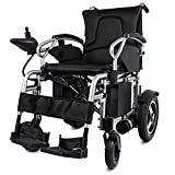 Bariatric Heavy Duty Transport Wheelchair Folding Ultra Lightweight Powerful Lithium Battery Included, Easy To Carry Motorized W/ 360° Joystick Control, Airline Travel Compatible Electric Wheel Chairs