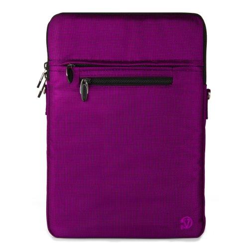 Vangoddy Hydei Crossbody Bag for VAIO Z Canvas 12.3 inch Laptops (Purple)