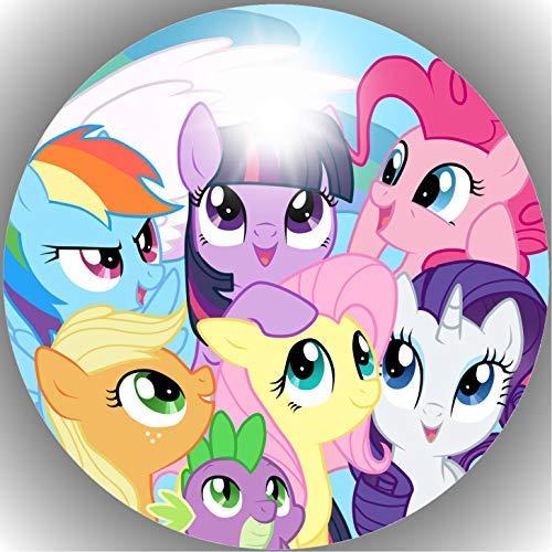 Fondant Tortenaufleger Tortenbild Geburtstag My Little Pony T20
