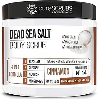 cinnamon salt scrub
