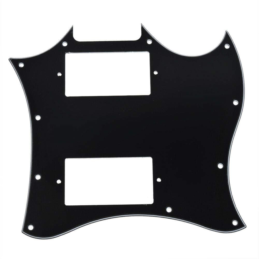 Guitar 67% OFF of fixed price Parts Black Pickguard Full Double New arrival Face S GB for