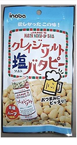稲葉ピーナツ クレイジーソルトバタピー 52g×6袋