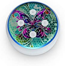 product image for Butterfly Glass - Skin Sticker Decal Wrap for Amazon Echo Dot 3rd Gen