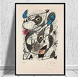 QINGRENJIE Berühmter Maler Joan Miro Moderne Kunst