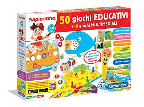 Clementoni 13351 - La Penna Parlante 50 Giochi Educativi con 10 Giochi Multimediali