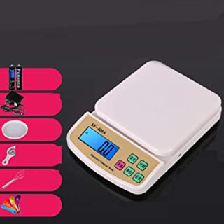 HTL Escalas de Cocina de Cocina Básculas de Cocina Digital Básculas para Comprar Escalas Pequeñas,Smart 10Kg / 1G