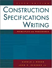 Construction Specifications Writing Principles & Procedures, 5TH EDITION