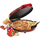 Betty Crocker BC-2958CR Pizza Maker, Red by Betty Crocker