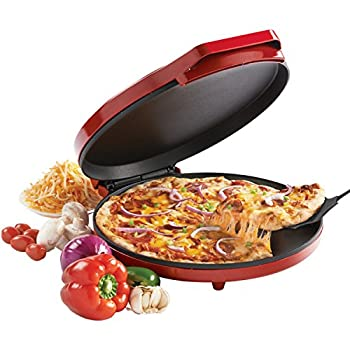 Betty Crocker Countertop Pizza Maker 1440-Watt Pizza Maker Machine for Home BC-2958CR