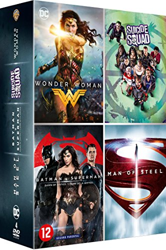 Wonder Woman + Suicide Squad + Batman v Superman : L'Aube de la justice + Man of Steel