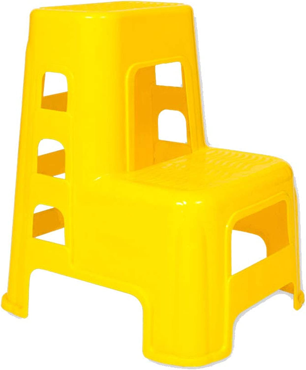 2 Step Ladder Stool Plastic Non-Slip Wash Car Stool for Home Office