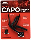 D'Addario PW-CP-10NSM NS Artist Capo with NS Micro Headstock Tuner