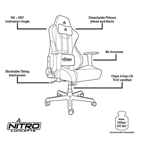 NITRO CONCEPTS S300 Gaming Stuhl - 7