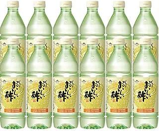 日本自然発酵 おいしい酢 900ml 12本セット ペットボトル   健康 飲料 まろやか ドリンク 料理 甘酢 果実酢配合 美味しい 飲める 国産