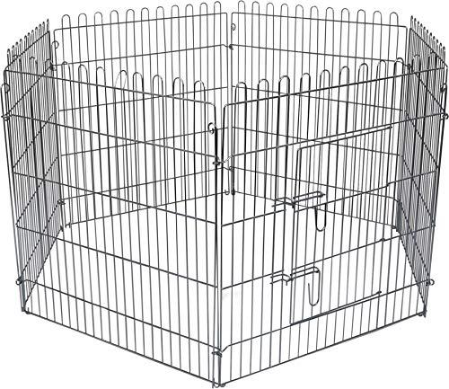 Flamingo High Cage pour Chiot 160 cm diamètre 80 cm