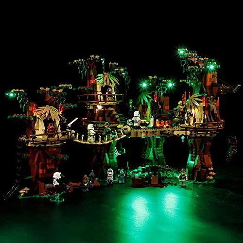 Licht-Set Für (Star Wars Ewok Village) Modell - LED Licht-Set Kompatibel Mit Lego 10236 - Modell Nicht Enthalten