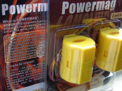 Powermag Économiseur de Carburant magnétique pour Tous Les modèles de voiture/vélo/fourgon/camion/4x4 Essence/Diesel