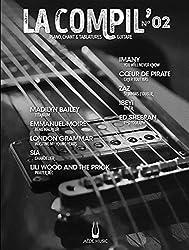 Partitions variété, pop, rock AEDE MUSIC LA COMPIL N° 2 - PVG ET TAB Piano voix guitare tablatures