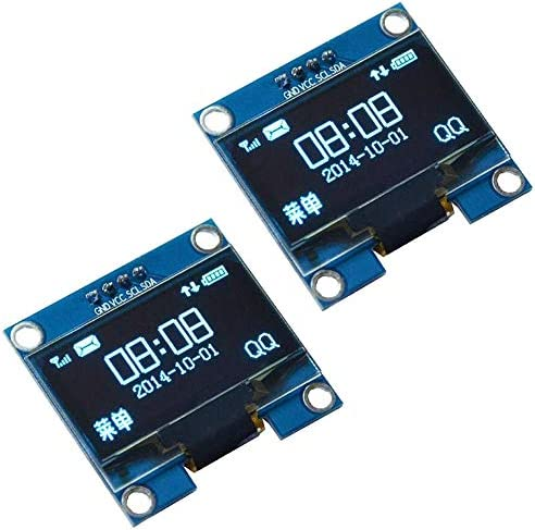 WINGONEER 2Pcs 1 3 Inch IIC I2C Serial 128x64 SSH1106 OLED LCD Display LCD Module for Arduino product image