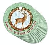 24 ANHÄNGER zu Weihnachten/Vintage Hirsch/Hängeetiketten für ihre Weihnachtsgeschenke...