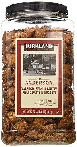 Kirkland HK Anderson Peanut Butter Filled Pretzels 3.25 lbs