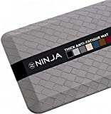 Ninja Brand Premium Floor Comfort Mat, Ergonomically Engineered, Extra Support Floor Pad, Commercial...