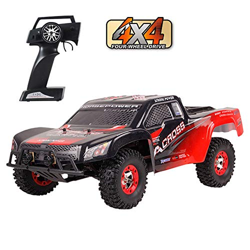 TLgf 4WD Fernbedienung Auto Lade Spielzeug Racing Erwachsene High Speed Drift Klettern SUV, 2,4G High Speed von 50 km/h All Terrain ferngesteuertes Auto