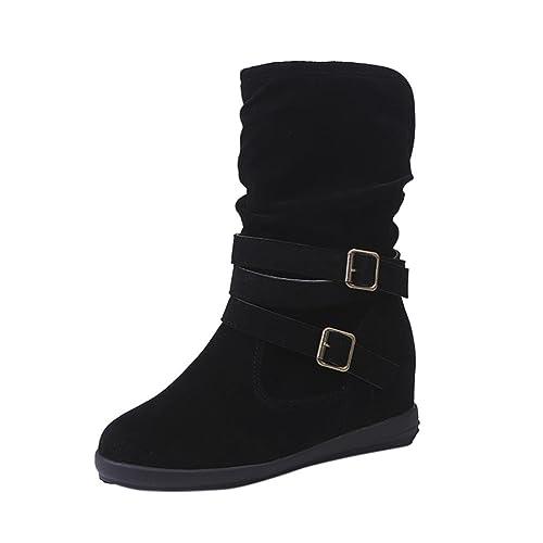 07481ae7f Zapatos Mujer Otoño Invierno Amlaiworld Moda Botas de Nieve Mujer Botines  de Mujer Zapatos de Nieve