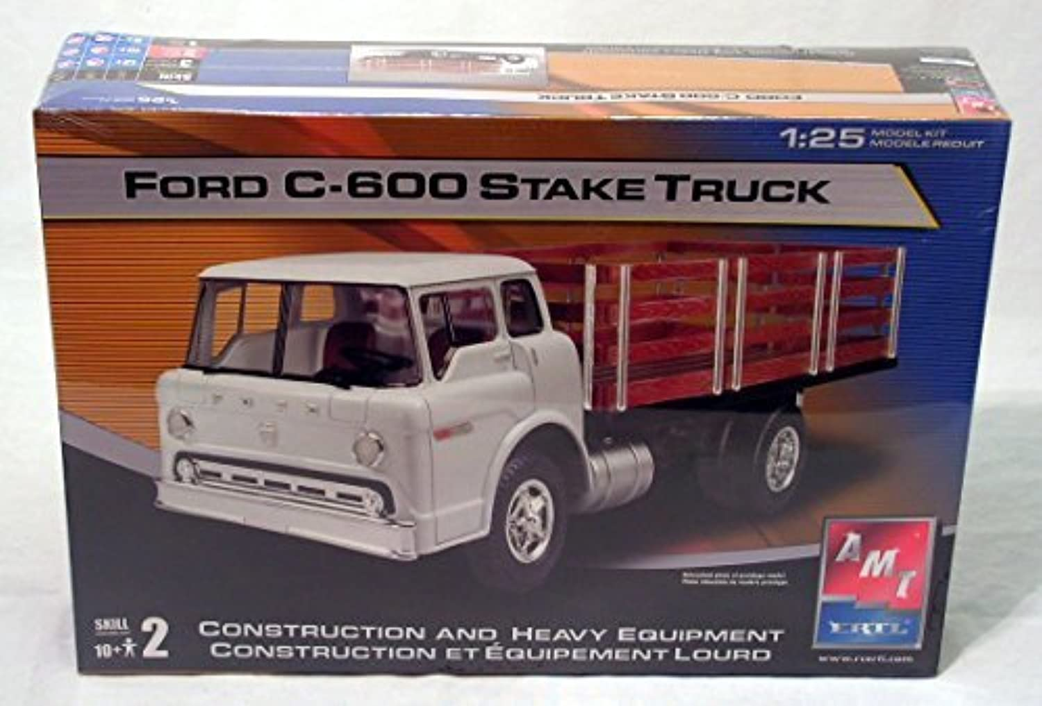 AMT Ford C-600 Stake Truck by AMT Ertl