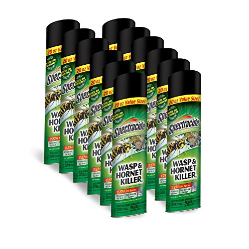 New Case (12) Spectracide Hg-95715 20oz Wasp Hornet Insect Spray Bug 6329650