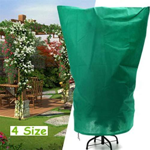 Sacs Protection des Plantes de Couverture, Chaud Worth Hiver par Temps Froid Arbuste Neige Grand Potted Cover, 4 Pack,105 * 180cm