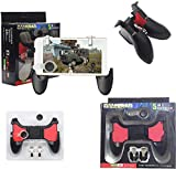 People may get hands cramps after playing hours of battle royal games with cellphone. DELAM gamepad is specially designed for mobile shooting games, it extends your phone into a traditional Xbox or PS controller, more comfortable for big hands. Phone...