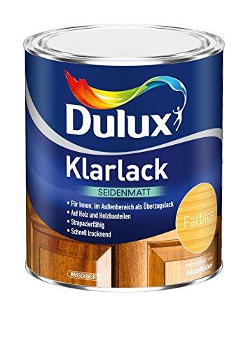 AKZO NOBEL (DIY DULUX) 5194737 Dulux Klarlack seidenmatt 0,375 L
