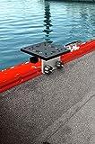 Brocraft Universal Aluminum Downrigger Bracket for Tracker Boat Versatrack System/Versatrack Accessories/Downrigger Bracket