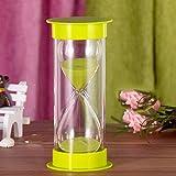 DFBGL Temporizador de Arena Decorativo, Colorido Reloj de Arena Transparente, Temporizador de Cocina, para Regalos,...
