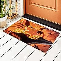 Indoor Door Mats Naruto Vs Sasuke Shoes Scraper Rug for Patio and Front Door 16 X 24 Inch