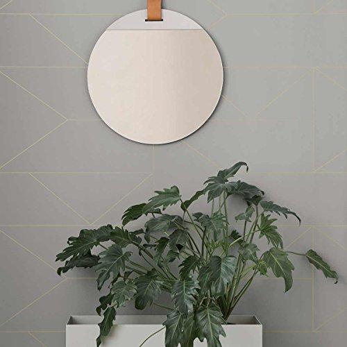 Ferm Living Lines Wallpaper - Grey