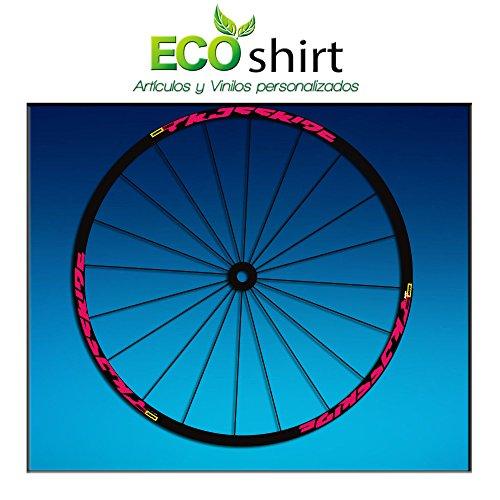 Ecoshirt SC-BDOO-PS40 Stickers Crossride 2016 Am52 Bike MTB Downhill Rose 29\