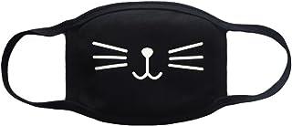 queenneeup 韓国オリジナル商品・黑マスク・白マスク・ブラックマスク・ホワイトマスク・スキーマスク・ボードマスク・カートーンマスク (男女共用)