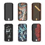 Cigarrillos electrónicos Vaporesso Luxe II 220W MOD Pantalla a color TFT de 2.0 pulgadas 0.02S Disparo rápido sin nicotina (negro)