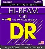 DR String LTR-9 Hi-Beam Jeu de cordes pour guitare electrique