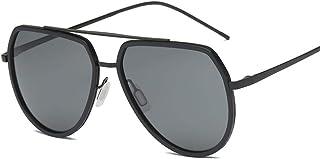 FRGTHYJ - FRGTHYJ Gafas de Sol polarizadas Hombres Gafas de Sol polarizadas Gafas de conducción Gafas clásicas clásicas de Estilo Simple P3